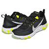 NIKE REACT ELEMENT 55 black/wolf grey-volt-white BQ6166-001画像