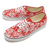 VANS AUTHENTIC OTW REPEAT RED/T.WHITE VN0A38EMUKL画像