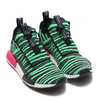 adidas Originals NMD_TS1 PK CORE BLACK/SHOCK LIME/GREY B37628画像
