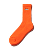 ATMOS LAB BOX LOGO SOCKS  ORANGE AL18F-AC08画像