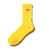 ATMOS LAB BOX LOGO SOCKS  YELLOW AL18F-AC08画像