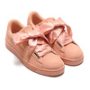 PUMA SUEDE HEART SATIN WMNS DUSTY CORAL-G 362714-05画像