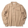 RADIALL BIG CHRIS - OPEN COLLARED SHIRT L/S (ROOT BEER)画像