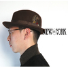 NEW YORK HAT Fedra Felt Hat -Tear Drop- WPL5923画像