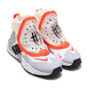 NIKE AIR HUARACHE GRIPP QS SAIL/TEAM ORANGE-WHITE-WOLF GREY AT0298-100画像