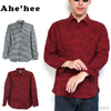 Ahe'hee #AHWS GinghamCheck Flannel Shirt画像