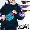 X-girl COLOR BLOCK HIP BAG 5183015画像
