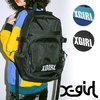 X-girl CHEERFUL BACKPACK 5183016画像