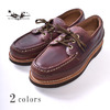 Russell Moccasin REGATTA BOAT SHOE TRIPLE VAMP CHROMEXCEL LEATHER画像