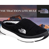 THE NORTH FACE NSE TRACTION LITE MULE tnf black/white NF51887-KW画像