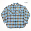 SUGAR CANE TWILL CHECK L/S WORK SHIRT SC27964画像