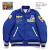 "Whitesville 30oz. ALL MELTON AWARD JACKET ""UCLA"" WV14220画像"