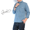 ORGUEIL #OR-5007F Shawl Collar Shirt画像