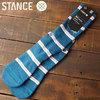 STANCE SOCKS ALL GOOD BLUE画像
