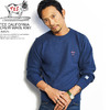The Endless Summer TES CALIFORNIA CREW WAVE KNIT -NAVY- AS-8774310N画像
