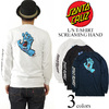 Screaming Hand Regular L/S Santa Cruz Mens T-Shirt画像