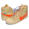 THE 10 : NIKE BLAZER MID OFF-WHITE canvas/total orange AA3832-700画像