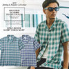 CRIMIE OPNE RAYON SHORT CHECK SHIRT C1K1-SH07画像