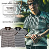 CRIMIE BORDER POLO SHIRT C1K1-CS07画像
