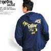 EYEDY THE UNCOUTH FELLOW ZIP PARKA -NAVY- EYE-ZM033画像