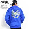 EYEDY TEAM CIRCLE ZIP PARKA -ROYAL- EYE-ZM055画像