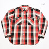 WAREHOUSE Lot 3104 FLANNEL SHIRTS B柄画像