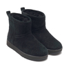 UGG W CLASSIC MINI WATERPROOF BLACK 1019643-BLK画像