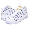 NIKE AIR MORE UPTEMPO(GS) white/midnight navy 415082-109画像