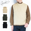 ORGUEIL #OR-4122 Cable Knit Vest画像