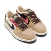 NIKE WMNS AIR JORDAN 1 RETRO LOW OG PARACHUTE BEIGE/BLACK-BEACH-LAVA GLOW AQ0828-200画像