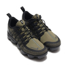 NIKE AIR VAPORMAX RUN UTILITY MEDIUM OLIVE/REFLECT SILVER-BLACK AQ8810-201画像