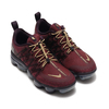 NIKE W AIR VAPORMAX RUN UTLTY BURGUNDY CRUSH/METALLIC GOLD AQ8811-600画像