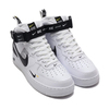 NIKE AIR FORCE 1 MID '07 LV8 WHITE/BLACK-TOUR YELLOW 804609-103画像