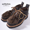 YUKETEN MAINE GUIDE Ox Quebec Eyestay Grain Cow Leather/Beaver Fur画像