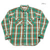 WAREHOUSE Lot 3104 FLANNEL SHIRTS D柄画像