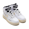 NIKE W AF1 HI UT WHITE/LIGHT CREAM-BLACK-WHITE AJ7311-100画像