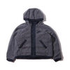 NIKE AS W NSW NSW JKT FZ SHERPA ATMOSPHERE GREY/DARK OBSIDIAN 941908-027画像