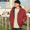 AVIREX MIX FABRIC BOMBER JACKET 6182167画像