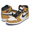 NIKE AIR JORDAN 1 HI OG ROY golden harvest/black-sail 555088-700画像