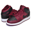 NIKE AIR JORDAN 1 MID BG team red/black-summit white 554725-601画像