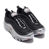 NIKE AIR MAX 97 QS BLACK/VARSITY RED-METALLIC SILVER-WHITE AT5458-001画像