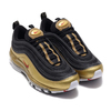 NIKE AIR MAX 97 QS BLACK/VARSITY RED-METALLIC GOLD-WHITE AT5458-002画像