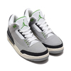 NIKE AIR JORDAN 3 RETRO LT SMOKE GREY/CHLOROPHYLL-BLACK-WHITE 136064-006画像