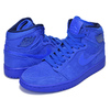 NIKE WMNS AIR JORDAN 1 RETRO HI PREMIUM blue void/racer blue AH7389-400画像