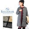 LAVENHAM LOUND NepCheck Lady's NoCollar Quilting Coat画像