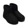 UGG Australia W CLASSIC MINI MILKY WAY BLACK 1104110-BLK画像