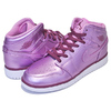 NIKE AIR JORDAN 1 MID SE(GS) pink rise/white-noble red AV5174-640画像