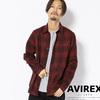 AVIREX CHECK SHIRT 6185156画像