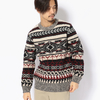 Schott NATIVE PATERN KNIT 3184007画像