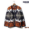 GAIJIN MADE GKW-123 NATIVE PATTERN KNIT SHORT GOWN画像